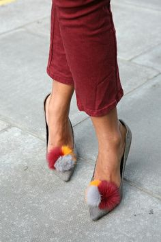 All about the accessories: those fabulous shoes!