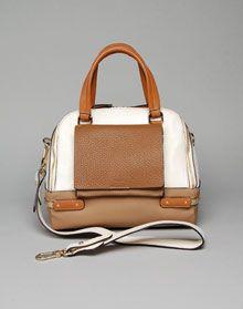 Joseph two-tone satchel