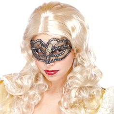 Lace Masquerade Gold Mask Adult