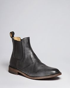 $258, James Chelsea Boots by Frye. Sold by Bloomingdale's. Click for more info: http://lookastic.com/men/shop_items/69404/redirect
