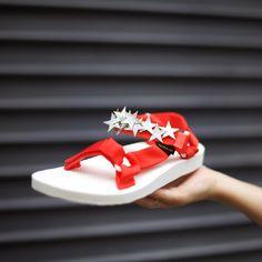 Fourth of July Original Sandals DIY