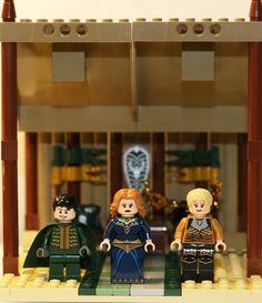 Game of Thrones: Shadow Strikes: Renly Baratheon, Catelyn Stark, Brienne of Tarth Legos