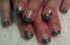Day 77: Glittery St. Patrick's Day Nail Art - Nails Magazine