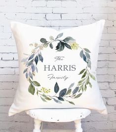 Cotton anniversary gift Pillow Cover Cotton Anniversary Gift