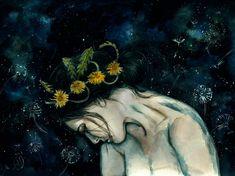 Constellation Dandelion by Poplavskaya.deviantart.com on @DeviantArt