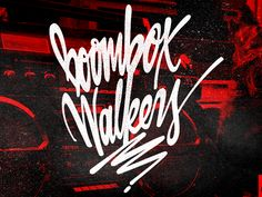 Boombox Walkers By Tadas for Sure