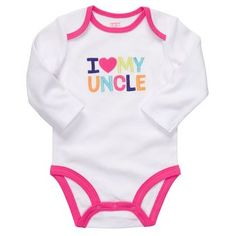 OMG Carter's has an Uncle onesie!!!