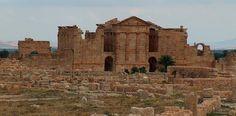 The Grand Forum - Sbeitla, Tunisia