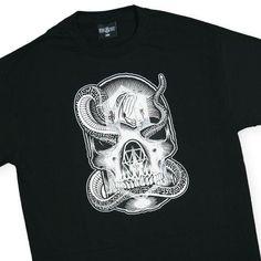 REBEL8 - 'Snakebite' [(Black) T-Shirt]