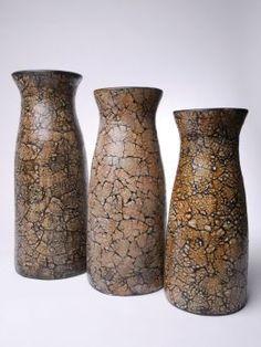 Amaris ELements VIDA0055 3er Set Vasen Eierschalen