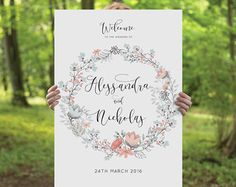 Printable Wedding Table Number Signs Set of 20 DIY by CouturePress