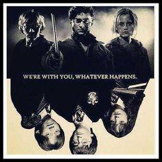 Harry Potter, Hermione Granger and Ron Weasley Harry Potter Quotes, Harry Potter Love, Harry Potter Fandom, Harry Potter World, Ron Weasley, Must Be A Weasley, Slytherin, Hogwarts, Saga