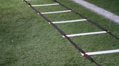 Get Faster and More Nimble With 10 Agility Ladder Drills   Single Leg Hops, Lateral Jumps, High Step, Horizontal Jumps, Single Leg Lateral Hops, Explosive Push-ups, Crabwalks...