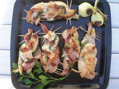 Kuchnia szeroko otwarta: Grillowane drobiowe warkocze z boczkiem i szczypiorkiem