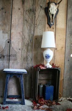 Krukje, Delfsblauwe lamp