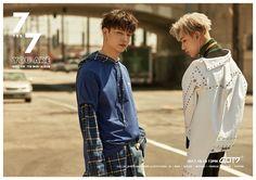 Jaebeom & Bambam   7 for 7 teaser image   GOT7 Oct 2017 Comeback   Handsome babes!   [source : GOT7Official twitter]