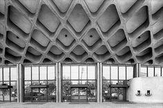 kagawa prefectural gymnasium  1954  kagawa, japan    kenzo tange