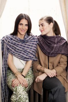 It's A Wrap: Jewelry Designers Annette and Phoebe Stephens Reinvent Traditional Mexican Scarves. Vogue