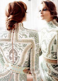 fashion plaits: eniko mihalik by regan cameron for