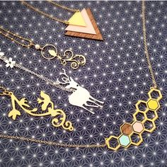 Shlomit Ofir necklaces photo credit: @opaline on Instagram
