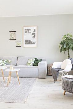 Kleur op muur: Pale Jade Green van Le Noir & Blanc