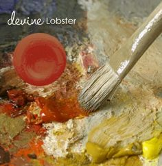 Made to order, hand crafted, and sized by me, Devine Lobster is the perfect Tangerine color for your wall because it plays well with others.