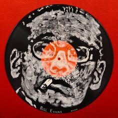 Yury Ermolenko, ''Bill Evans'' - Facevinyl - THE BIG COLLECTION - №103, side I…  #YuryErmolenko #еrmolenko #ЮрийЕрмоленко #ермоленко #yuryermolenko #юрийермоленко #юрiйєрмоленко #ЮрiйЄрмоленко #єрмоленко #rapanstudio #modernart #fineart #contemporaryart #painting #art #vinyl #texture #portrait #music #портрет #disk #disc #Facevinyl #BillEvans #pianist #composer #arranger #jazz #modaljazz #thirdstream #cooljazz #postbop #piano #jazzpiano