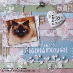 Cherished Moments ~ gorgeous Bo Bunny Garden Journal collection - Scrapbook.com