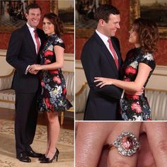Princess Eugenie, daughter of Prince Andrew, granddaughter Queen Elizabeth II will marry her fiancé, Jack Brooksbank, on October 12, 2018, in the Royal Chapel of Saint George, Windsor Castle.