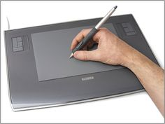 3 tips for Wacom Tablet users. From Burnblue – Toby Keller. The Night Writerz.