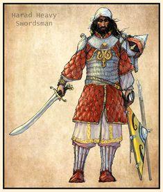 Haradrim swordsman by Merlkir.deviantart.com on @deviantART