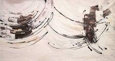 Buzzing Painting by Laura B | Saatchi Art #energeticpainting #abstractartwork #white #simple #neutralpalette #simplepainting #naturalcolors #blackandwhite #originalart #curvystyle Acrylic Colors, Acrylic Art, Abstract Expressionism, Abstract Art, Original Art, Original Paintings, Easy Paintings, Contemporary Paintings, Buy Art
