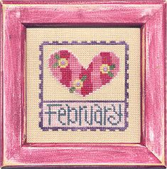 February Stamp Flip-It model from Lizzie Kate