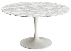 marble saarinen table - Google Search