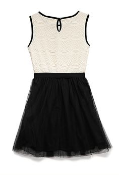 Dainty Lace Dress (Kids) | FOREVER 21 - 2000090256 #F21CRUSH
