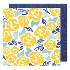 American Crafts - Dear Lizzy Star Gazer - Marigold Merriment Paper
