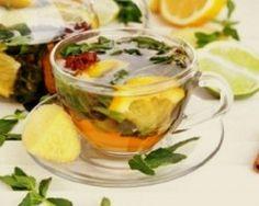 Chá de Gengibre,Canela e limão. O chá ideal para desinchar a Barriga e Emagrecer