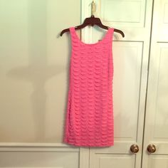 NWT. Coral color dress, very nice. It is a coral color dress, very nice design. I love it, but doesn't fit me! It is too small for me! Dresses