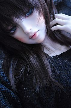 ✿• ' bjd ' ~ ' ball jointed doll ' •✿ long hair. . .makeup. . .eyelashes. . .amazing detail. . .lifelike. . .cute. . .kawaii