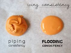 Cookie Decorating With Royal Icing : Icing Consistency, Preparation, Outlining, & Flooding