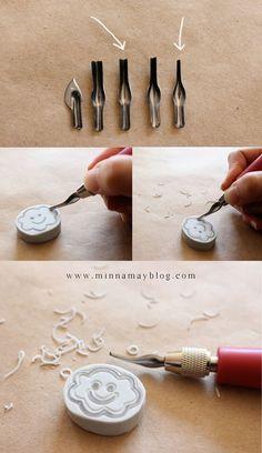 DIY Stamp Carving Kit