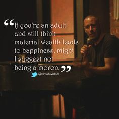 Dov Davidoff's thoughts on wealth, follow him on twitter @dovdavidoff