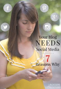 Wondering if social media is worth your time? It is. Here are 7 Reasons Your Blog Needs to Be on Social Media.