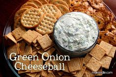 Green Onion Cheeseball. Substitute Bon Appetit with equal parts of onion powder and celery salt.