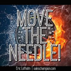 Focus on leveraged activities that will move the needle of your business! #saleschampion #ericlofholm