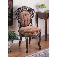 Love this chair!  Design Toscano Victorian Parlor Chair   Wayfair