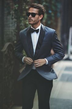 Elegant men's formal wear with tuxedo and suits 114