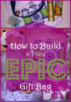 How to Build a Truly Epic Gift Bag- SnapGinger- Gift Bag Ideas, Gift Baskets, Unique, Gifts For Women, How To Make A Gift Bag
