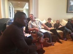 Mastermind session at JT's house with some top students & NFL Legend Michael Irvin