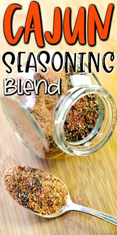 Homemade Cajun Seasoning , < This homemade Cajun Seasoning Recipe uses spices you probably already have in your pantry and is the perfect way to add a little zing to fish, shell. Homemade Spice Blends, Homemade Spices, Homemade Seasonings, Dry Rub Recipes, Cajun Recipes, Cooking Recipes, Jamaican Recipes, Cajun Seasoning Recipe, Seasoning Mixes